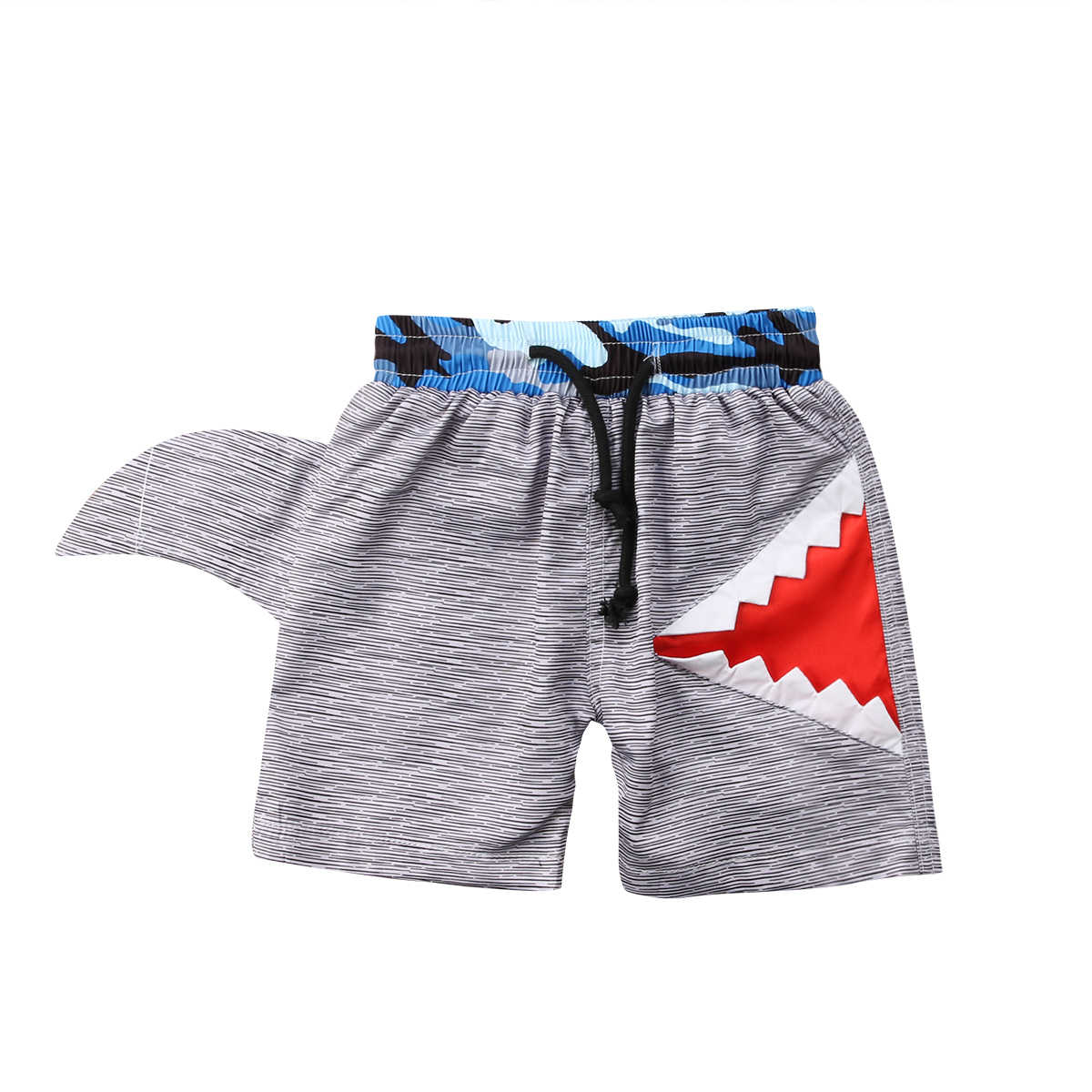652a9943a8cce Toddler Infant Newborn Kids Shorts Baby Boys Swimming Trunks Swimwear  Surfing Bathers Beach Pants Shark Bathing