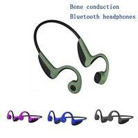 Kopfhörer Bluetooth 5 0 Knochen Leitung Headsets Wireless Sport Freisprecheinrichtung HeadsetsSupport Drop Verschiffen|Handy-Ohrhörer und Kopfhörer Bluetooth|   -