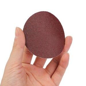 """Image 4 - 100 szt. 3 """"Cal 75mm papier ścierny szlifierka Disc Mix szlifowanie polerowanie P80 P3000 Pad"""
