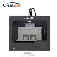 Металла экструдер DE02 400*300*300 мм 400 градусов двойной экструдер Creatbot 3d принтер большой Размеры FDM 3D машина Ho Применение для продажи