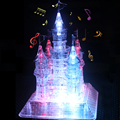 3D Crystal Puzzle Christmas gift for SainSmart Jr. Sparkle Music Flash Model DIY Castle White