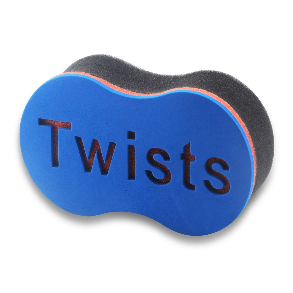 Magic Twist Hair Sponge Barber Hair Brush Sponge Twist Afro Curl Coil Wave Hair Care Styling Tool For Natural Hair Wave Dreads
