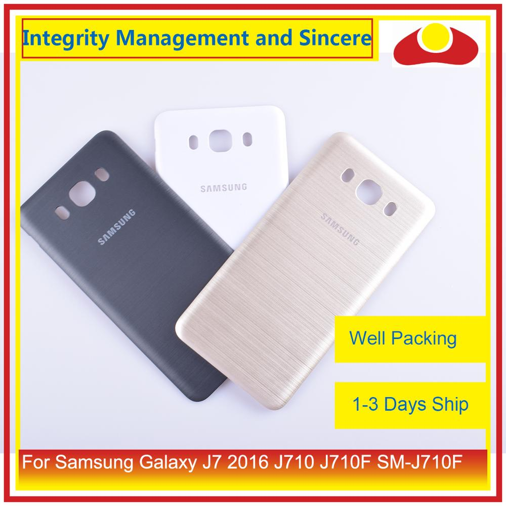 Image 5 - Original For Samsung Galaxy J7 2016 J710 SM J710F J710M J710H J710FN Housing Battery Door Rear Back Cover Case Chassis Shell-in Mobile Phone Housings & Frames from Cellphones & Telecommunications