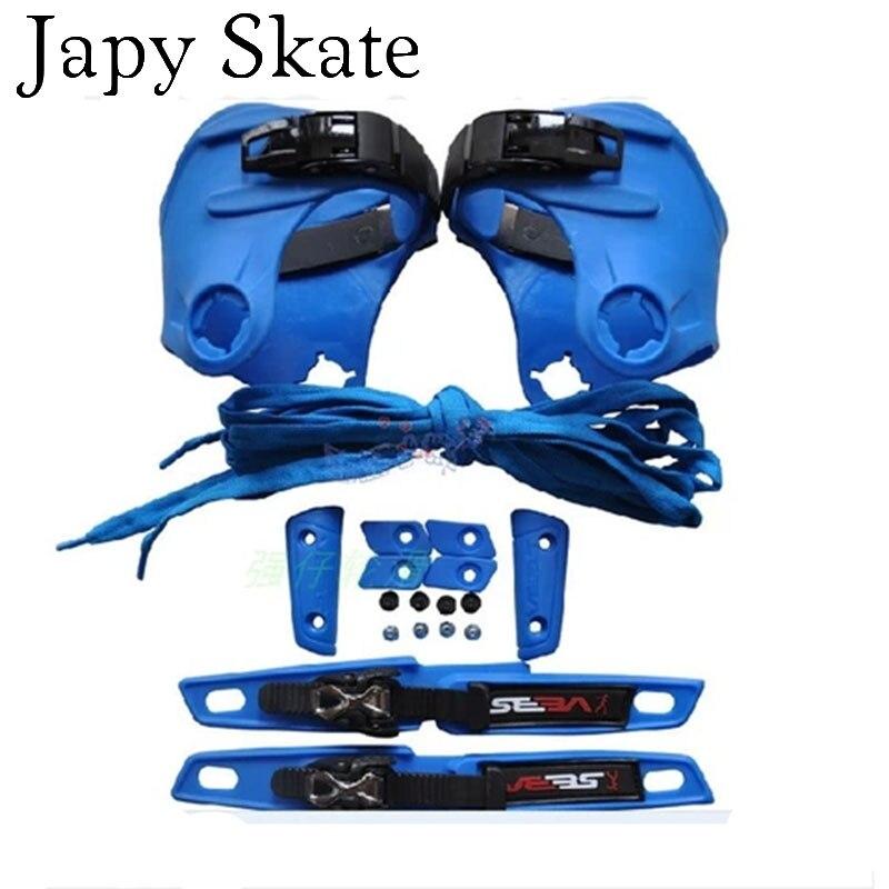 Prix pour Jus japy Skate D'origine Seba Haute MANCHETTE Ensemble Kit Comprennent Personnaliser Ensemble Crochet et Boucle Protection Coulissante Cravate L'ensemble de DIY