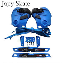 Seba original alta ou fr1 patins inline jogo manguito personalizar conjunto gancho & laço de proteção deslizante laço todo o conjunto de patine diy