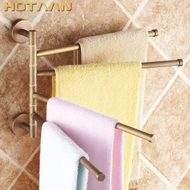 Free Shipping,fashion, Brand New,high Quality Solid Brass Bathroom Accessory,Movable Towel Bars,Towel Rail, Whole Sale & Retail