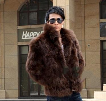 Popular Mens Fox Fur Coat-Buy Cheap Mens Fox Fur Coat lots from
