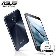 100% оригинальный asus zenfone 3 ze552kl android 6.0 5.5 «4 ГБ 64 ГБ Отпечатков Пальцев Окта основные 2.0 ГГц 16.0MP Камера Dual SIM Мобильные Телефоны