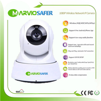 1080P 2MP 2 MegaPixel Full HD IR Night Vision Wi Fi Wifi IP Camera Wireless Cameras
