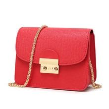 Women Small Flap Shoulder Bags Vintage Famous Brands PU Leather Chains Crossbody Bag mini bags female
