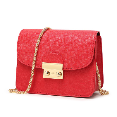 Women Small Flap Shoulder Bags Vintage Famous Brands PU Leather Chains Crossbody Bag mini bags female Hand Bags TAG120