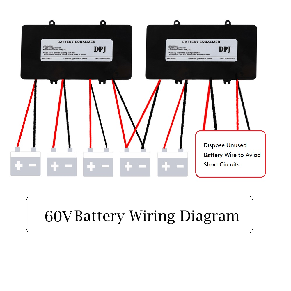 60v 72v 84v Battery Equalizer Used For Lead Acid Batteris Balancer Wiring Diagram