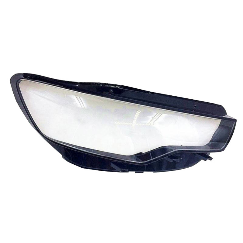 Front headlights headlights glass lamp shade shell lamp cover transparent masks  For Audi A6L C7 2013 - 2015
