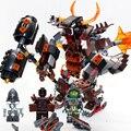 Tijolos do brinquedo projeto Original CHINA MARCA 357 auto-NexoKnights tijolos de travamento automático Compatível com Lego no box original