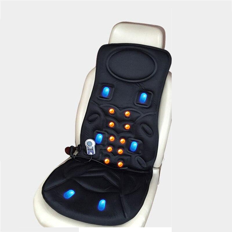 8 видов режим вибрации автомобиля дома шейный массаж многофункциональный массажное кресло подушки автомобиля массаж Коврики