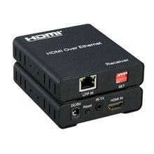 Новый HDMI удлинитель матрица 120 м 1080 P HDMI Matrix над tcp/ip Cat5e/6 сетевой кабель hdmi передатчик и приемник с ИК
