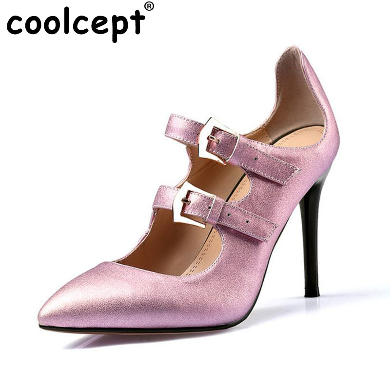 size 33-40 women real genuine leather pointed toe high heel shoes nude color brand sexy heels pumps ladies heeled shoes R08522 size 33 43 r08323 ladies pointed toe real genuine leather flat shoes women bowknot sexy spring fashion footwear brand shoes