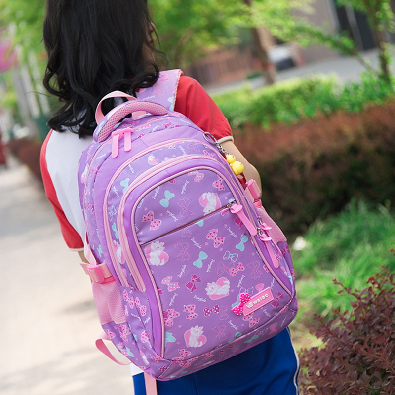 Children School Bags Kids mochila infantil Princess School Backpacks Kids Printing Backpacks Set Waterproof Schoolbag Girls(China)