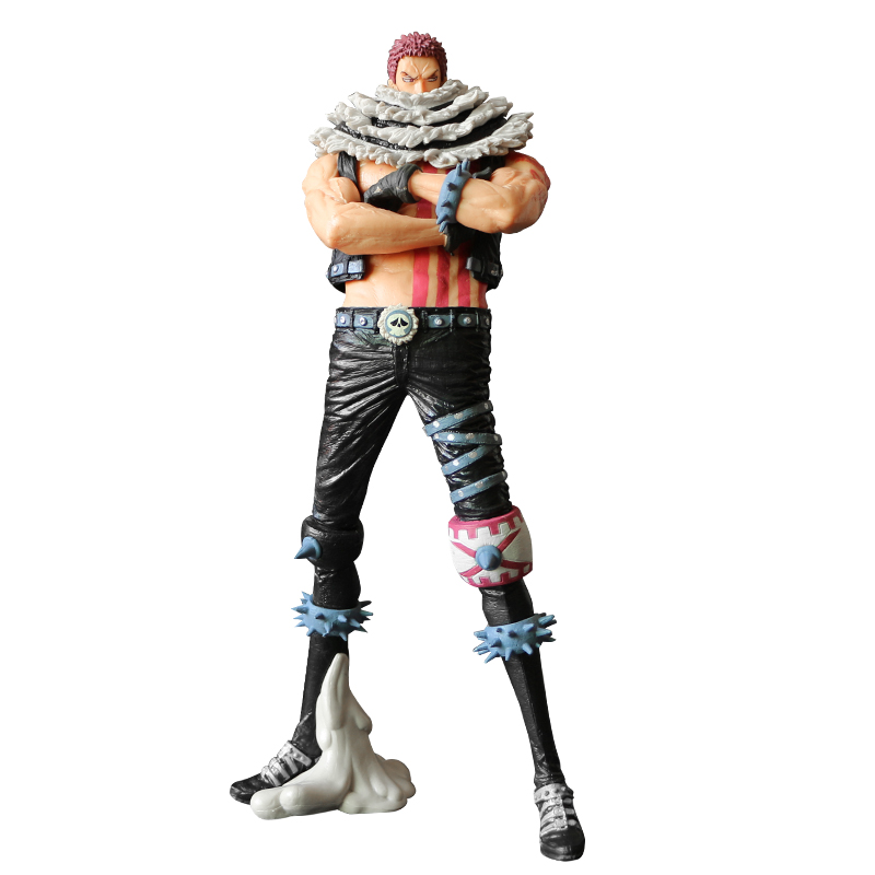 Anime <font><b>One</b></font> <font><b>Piece</b></font> Charlotte <font><b>Katakuri</b></font> Action <font><b>Figures</b></font> Juguetes ONEPIECE Figurine Collection Model Toys 9.44'' Doll Christmas gift image