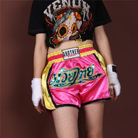 Men's Kick Boxing MMA Fight Shorts Kids Boys Muay Thai Kickboxing Sanda Pants Women Sportswear Children Grappling Trunks