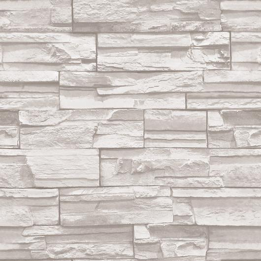 56 Square Feet 10m Roll Modern Simple Style Realistic Real Look Bricks Stones Off White Tv Sofa Background Vinyl Wallpaper