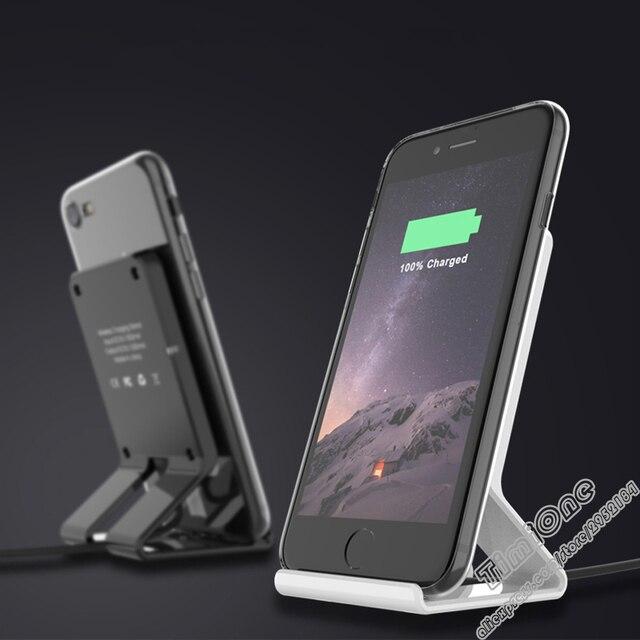 Qi Drahtlose Handy Ladegerat Fur Iphone 5 5c S 6 7 Plus