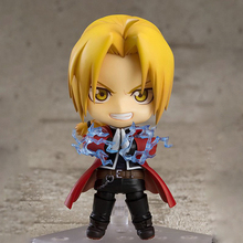Anime Fullmetal Alchemist Nendoroid Edward Elric Action Figure PVC 10CM Action Figure Model toys стоимость