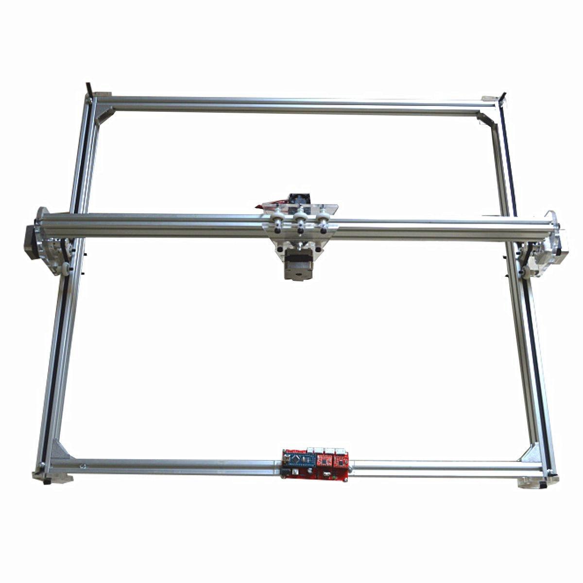 100mw-5500mw 65x50cm DIY Desktop Mini Laser Cutting/Engraving Engraver Machine DC 12V Wood Cutter/Printer/Power Adjustable