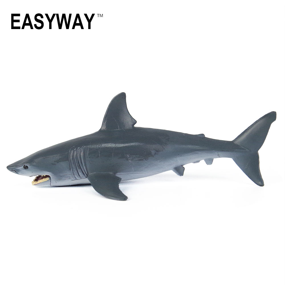Mr.Froger Shark Model Toys Jaws Simulation Cute Sea Life Animals In Action Figure For Kids Gift Tiburones Jugete Classic Pastic easyway sea life gray shark great white shark simulation animal model action figures toys educational collection gift for kids