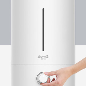 Image 4 - オリジナル Xiaomi Mijia Deerma 5L 空気加湿器タッチバージョン 35db 静音空気浄化のためのエアコン完備の客室オフィス家庭用