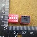 Frete Grátis 10 pcs 4 Posição 4 P Interruptor DIP 2.54mm Pitch 2 Row 8 Pin Deslize DIP Switch em estoque Transporte Rápido 30635