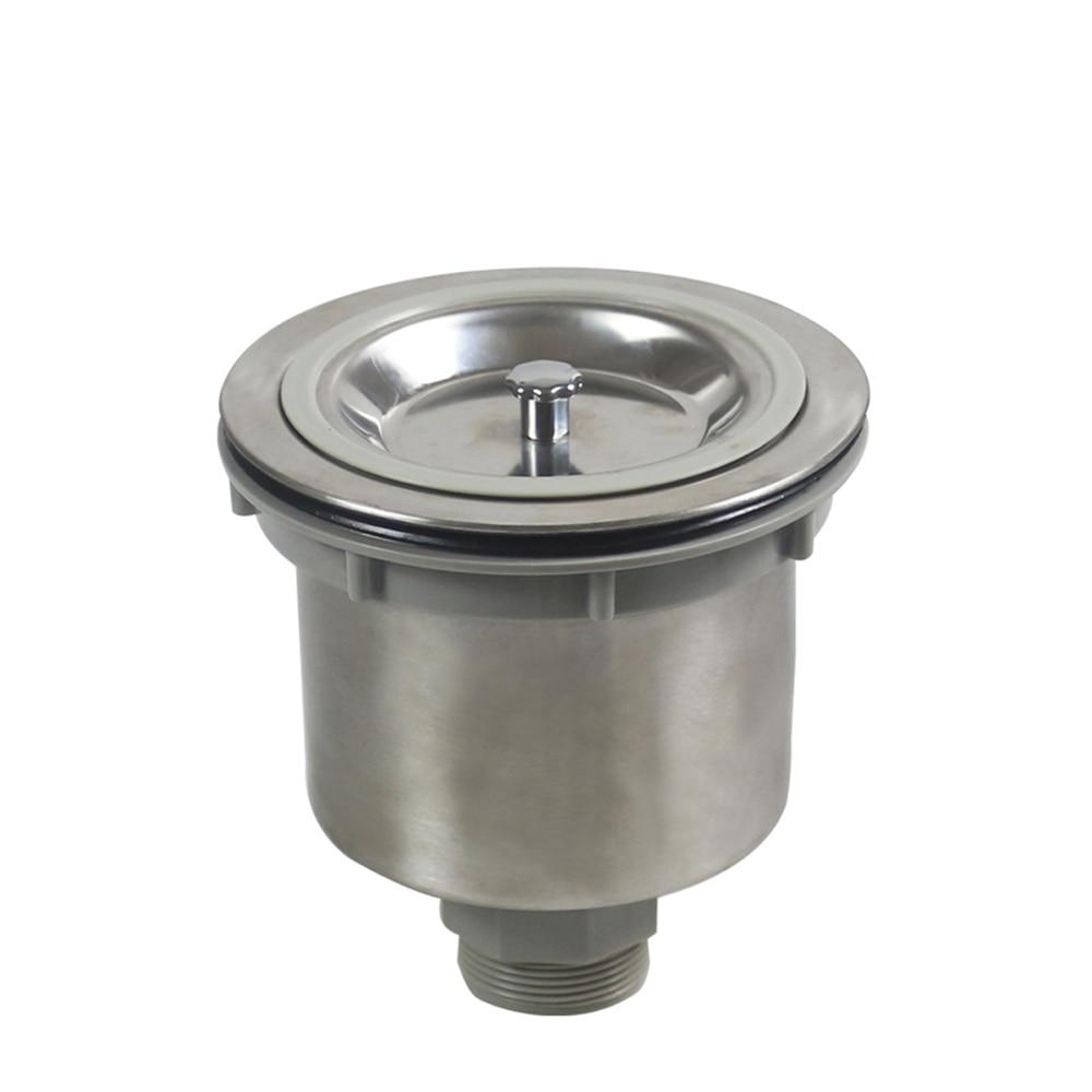 Talea Sink Strainer Stainless Steel304 Trap Sink Strainer Basin Drain Kit  Kitchen Sink Strainer Waste Plug Food Filter