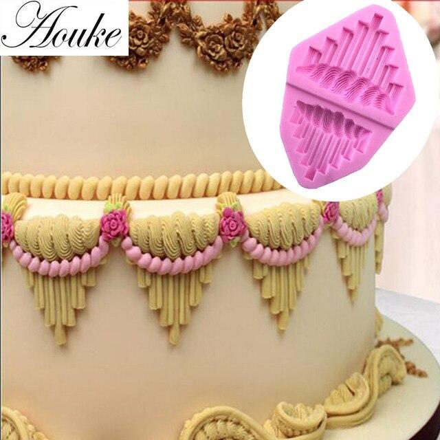 Aouke Schone Kuchen Seite Form Silikon Kuchen Formen Fondant Kuchen