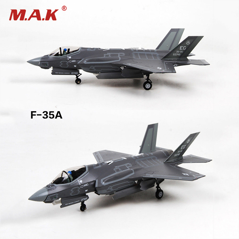 1/72 Scale F-35A Model Lightning II Joint Strike Fighter Navy Carrier-based Aircraft F35 Toys for Collections a model for developing rating scale descriptors