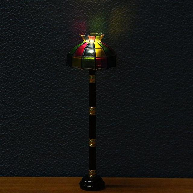 Us 17 66 Floor Led Night Light Switch Wireless Table Lamp Operated 1 12 Dollhouse Miniature In Night Lights From Lights Lighting On Aliexpress Com