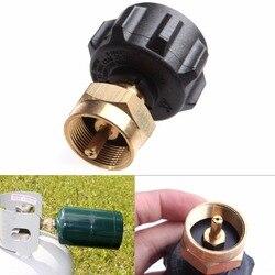 1 LB gaz propan QCC1 zawór regulacyjny adapter/przejściówka do napełniania propanem Outdoor BBQ nowość|Zewnętrzne piece|   -