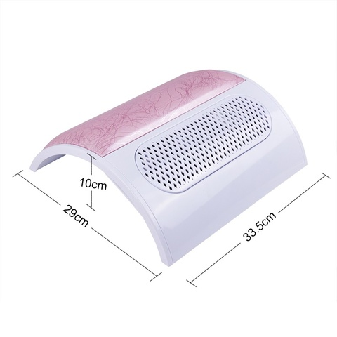 New Arrival 27W Strong Power Nail Suction Dust Collector Nail Dust Collector Vacuum Cleaner Nail Fan Art Salon manicure Lahore