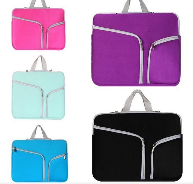Portable Ultrabook Notebook Soft Sleeve Laptop Bag Case for MacBook Pro for iPad Pro Retina 11 12 15.6 15 17 inch Handlebag