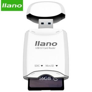 Image 4 - llano Card Reader Mini USB 2.0 SD Micro SD TF OTG Smart Card Reader for Memory Cards Reader USB SD Adapter