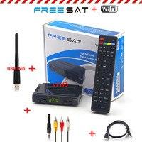 [Auténtica] Freesat V7 Hd 1080 P Receptor de Satélite Sintonizador de TV 1 UNID DVB-S2 Apoyo USB WiFi Cccam Newcam youtube set top box