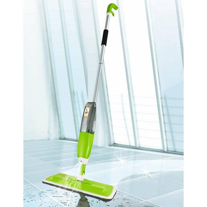 Mop in Moscow Spray Water Microfiber Hand Wash Nozzle detachable bottle 360 degree kitchen home Wood Tile Floor Villa