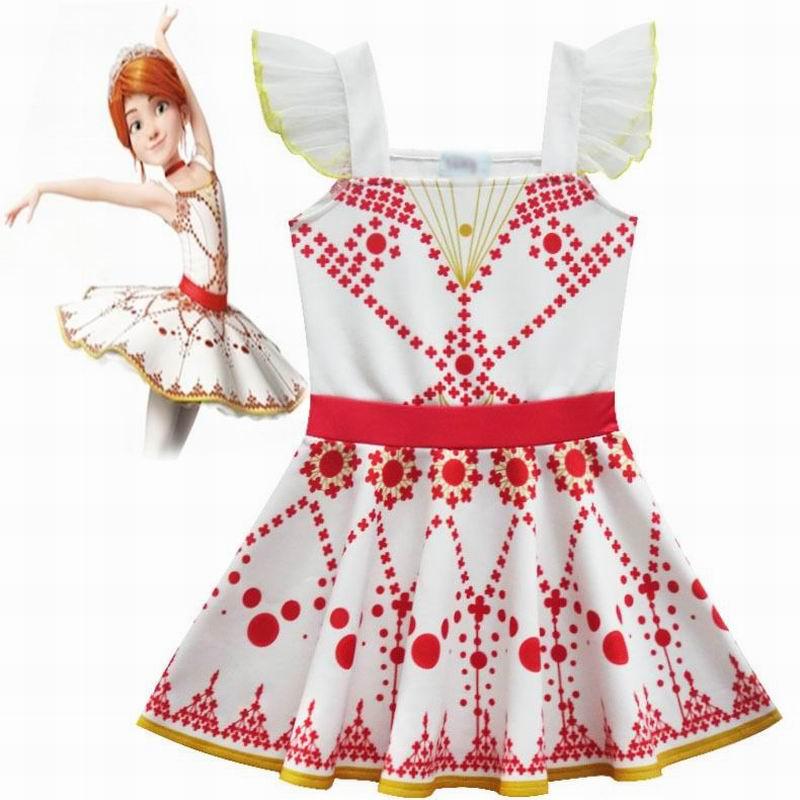 Felicie Cosplay Costumes Ballerina Girls Dress Stitching Ballet Dress Princess Dresses For Girls Performance Kids Dress