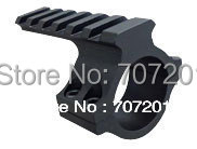 """10pcs/lot  1"""" 25mm Ring 20mm Mount with Weaver Rail for Scope Flashlight Laser sight light free shipping"""