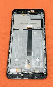 "Image 2 - 사용 된 원래 lcd 디스플레이 + 디지타이저 터치 스크린 유리 + 프레임 elephone p8 미니 mt6750t octa 코어 5.0 ""fhd 무료 배송"