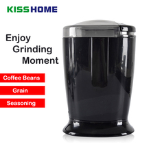 Coffee Electric Grinder Stainless Steel Blade Black Household Mini Multi-function Grinder Coffee Bean Grain Mill Coffee Tools цена и фото