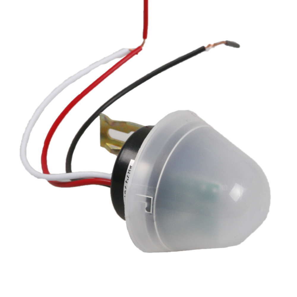 220v Waterproof Outdoor Auto On Off Light Sensor Switch With Street Automation Control Function