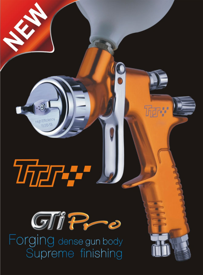 GTI PRO TTS spray gun