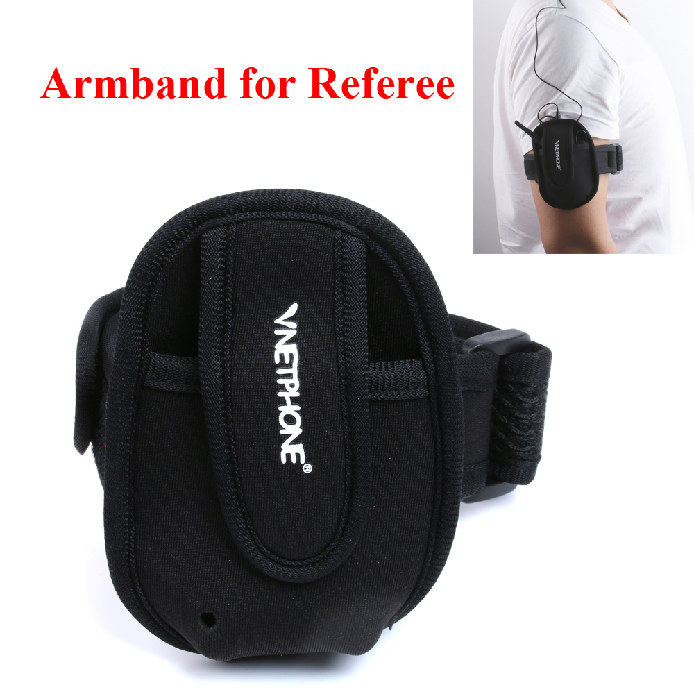 Vnetphone Portable Armband for Intercom Bag Riders Helmet Soft Plastic Material Easypocket Referee Intercom Headset Armband gereralscan gs ab1000 wearable armband with power adapter smart wearable armband for sale