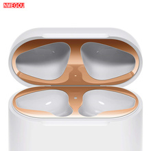 Dust Proof Guard for Apple Airpods Earphone Box Metal Protective Sticker for Air Pods Headphone Char