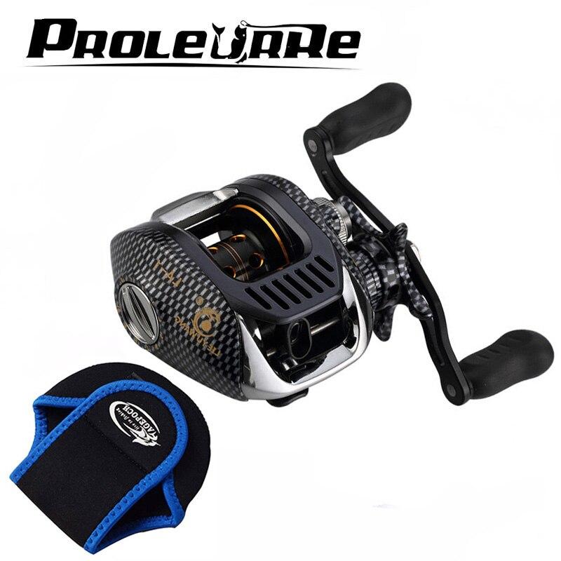 Hot Sale! New Baitcasting Reel Fishing Reel Gear Ratio 6.3:1 Bait